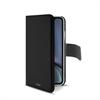 Puro funda folio Apple iPhone XR + carcasa extraíble negra