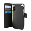 Puro - Puro funda folio Apple iPhone XS/X + carcasa extraíble negra