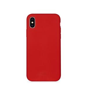 f1a06e759d5 Puro - Puro funda silicona con microfibra Apple iPhone XS Max icon roja