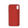Puro - Puro funda silicona con microfibra Apple iPhone XS Max icon roja