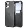 Raptic carcasa Clear Apple iPhone 12/12 Pro negra humo