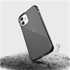 Raptic - Raptic carcasa Clear Apple iPhone 12 Mini negra humo