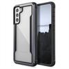 Raptic - Raptic carcasa Shield Samsung Galaxy S21 5G antimicrobiana negra