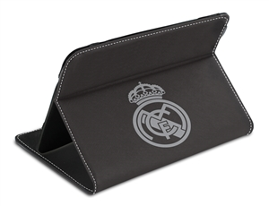 Funda tablet 7 negra plata real madrid - Fundas del real madrid ...