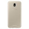 Samsung - Funda Jelly Cover Dorada Samsung Galaxy J7 2017 Samsung
