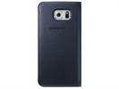 Samsung - Funda S View Cover Negra Samsung Galaxy S6 Samsung
