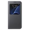 Funda S View Cover Negra Samsung Galaxy S7 Edge Samsung