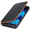 Funda Neon Flip Cover Negra Samsung Galaxy A3 2017