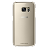 Carcasa Clear Cover Oro Samsung Galaxy S7 Samsung