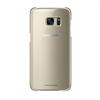 Carcasa Clear Cover Oro Samsung Galaxy S7 Edge Samsung