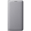 Funda Flip Wallet Tela Plata Samsung Galaxy S6 Samsung