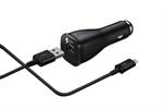 Cable Cargador Micro USB 2 A. Carga Rápida Negro Samsung