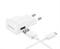 Transformador 2mAh + Cable Micro USB) Blanco Samsung