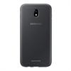 Samsung - Funda Jelly Cover Negra Samsung Galaxy J7 2017 Samsung