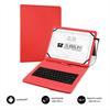 "Subblim Keytab Pro USB funda tablet con teclado 10,1"" roja"