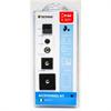 Tetrax Kit de accesorios negro para dispositivos adicionales + XVENT para acoplar XWAY y SMART al salpicade
