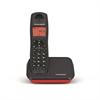 Teléfono DECT Mica Plus Negro/Rojo Thomson