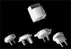Transformador Universal USB Dual 3.4A (2 USB= 1A + 2,4A ) y 4 adaptadores (UK, USA, EU y AUS) Unplug