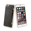 -Varios de Fundas- Carcasa Transparente + Tarjetero Negro Apple iPhone 6 Plus muvit