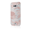 White Diamonds Swarovski Carcasa Camuflaje Rosa Traslúcida para Samsung Galaxy S8 Whiite Diamonds