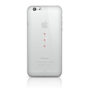 White Diamonds Swarovski - Carcasa Trinity Crystal Rose Gold Apple iPhone 6/6S White Diamonds