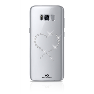 White Diamonds Swarovski - Carcasa Cristal Eternity Transparente para Samsung Galaxy S8 Plus White Diamonds