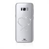 White Diamonds Swarovski Carcasa Cristal Eternity Transparente para Samsung Galaxy S8 Plus White Diamonds