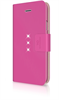 White Diamonds Swarovski - Funda Folio Crystal Wallet Rosa Apple iPhone 6 White Diamonds