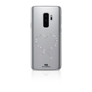 White Diamonds - Carcasa Cristal Eternity Transparente Samsung Galaxy S9 Plus White Diamonds