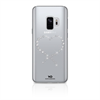 Carcasa Cristal Eternity Transparente Samsung S9 White Diamonds