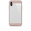 White Diamonds carcasa Apple iPhone X Plus Innocence Clear oro rosa