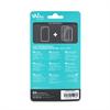 Wiko - Carcasa Game Changer gris acero + transparente con Protector de Pantalla Wiko Jerry