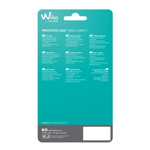 Wiko - Carcasa WiCube transparente WIko Jerry