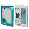 Wiko - Funda Minigel Transparente Wiko Rainbow Up
