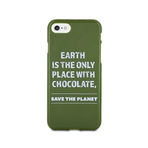 Words - Funda TPU Tacto Goma Save The Planet Apple iPhone 7/6/6S Words