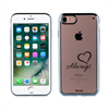 Funda TPU Transparente Love Always Appple iPhone 7 Words