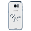 Funda TPU Transparente Love Samsung Galaxy S7 Edge Words