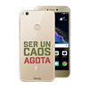 Funda TPU Transparente Caos Huawei P8 Lite 2017 Words