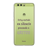 Funda TPU Transparente Gritos Huawei P10 Plus Words