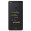Funda TPU Transparente Borrón Huawei P10 Lite Words
