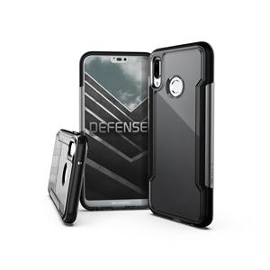 Xdoria - Carcasa Defense Clear Negra Huawei P20 Lite X Xdoria