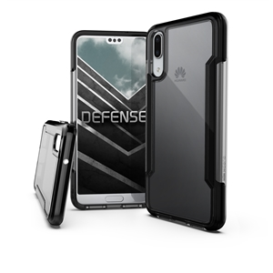 Xdoria - Carcasa Defense Clear Negra Huawei P20 X Xdoria