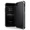Carcasa Defense Lux Piel Negra para Apple iPhone 8 Xdoria