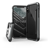 Carcasa Defense Shield Negra para iPhone X Xdoria
