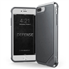 Xdoria carcasa Defense Lux Nylon Apple iPhone 8 Plus/7 Plus negra