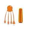 Xoopar After Work Power Pack adaptador multi conector + batería emergencia 2600 mAh naranja