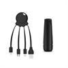 Xoopar After Work Power Pack adaptador multi conector + batería emergencia 2600 mAh negro