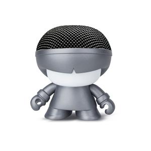 Xoopar - Xoopar Xboy Mini Altavoz bluetooth 3W color gris metalizado con luz LED