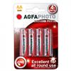 <Sin asignar> Agfaphoto Set 4 Pilas Aa