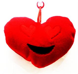 <Sin asignar> Corazon De Peluche Con Colgante San Valentin